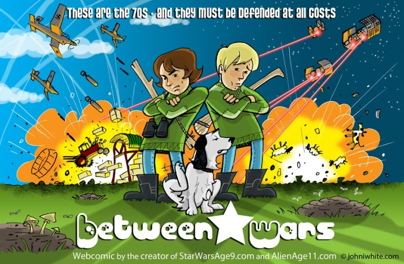 Between * Wars Poster/cover image