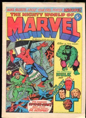 A 1972 UK Spiderman Comic