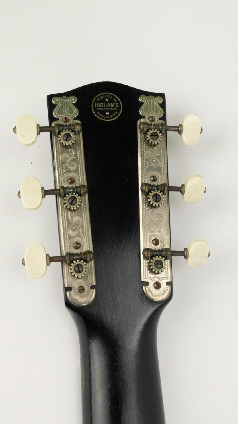 martin coletti g40 guitar headstock rear