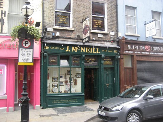 J. McNeill music shop—and pub